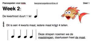 online pianolessen voor kinderen