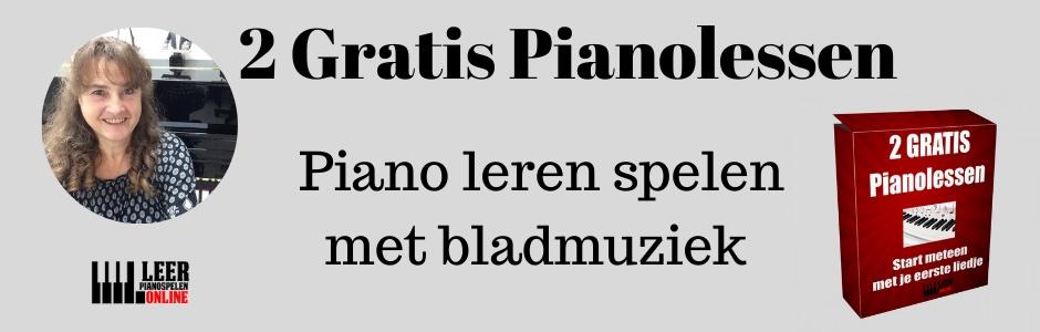 2 gratis pianolessen