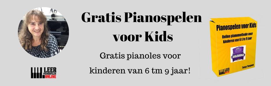 pianospelen voor kids