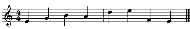 piano leren spelen van bladmuziek