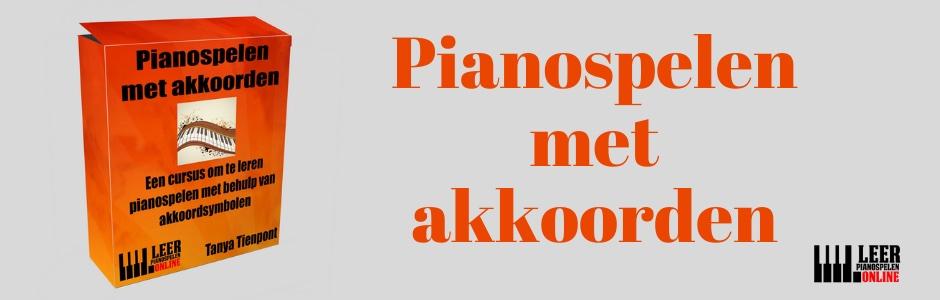 Pianospelen met akkoorden